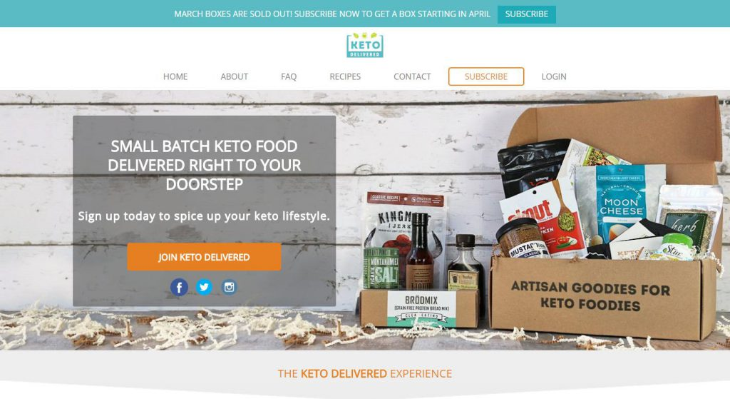 Keto Meal Delivery Service | All Articles about Ketogenic Diet