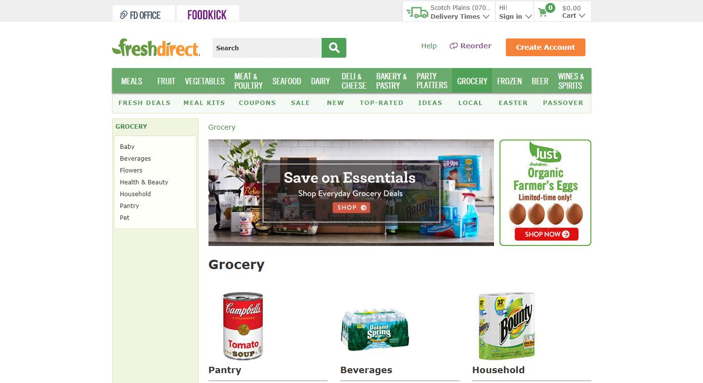 FreshDirect Reviews 2019 | Services, Plans, Products, Costs
