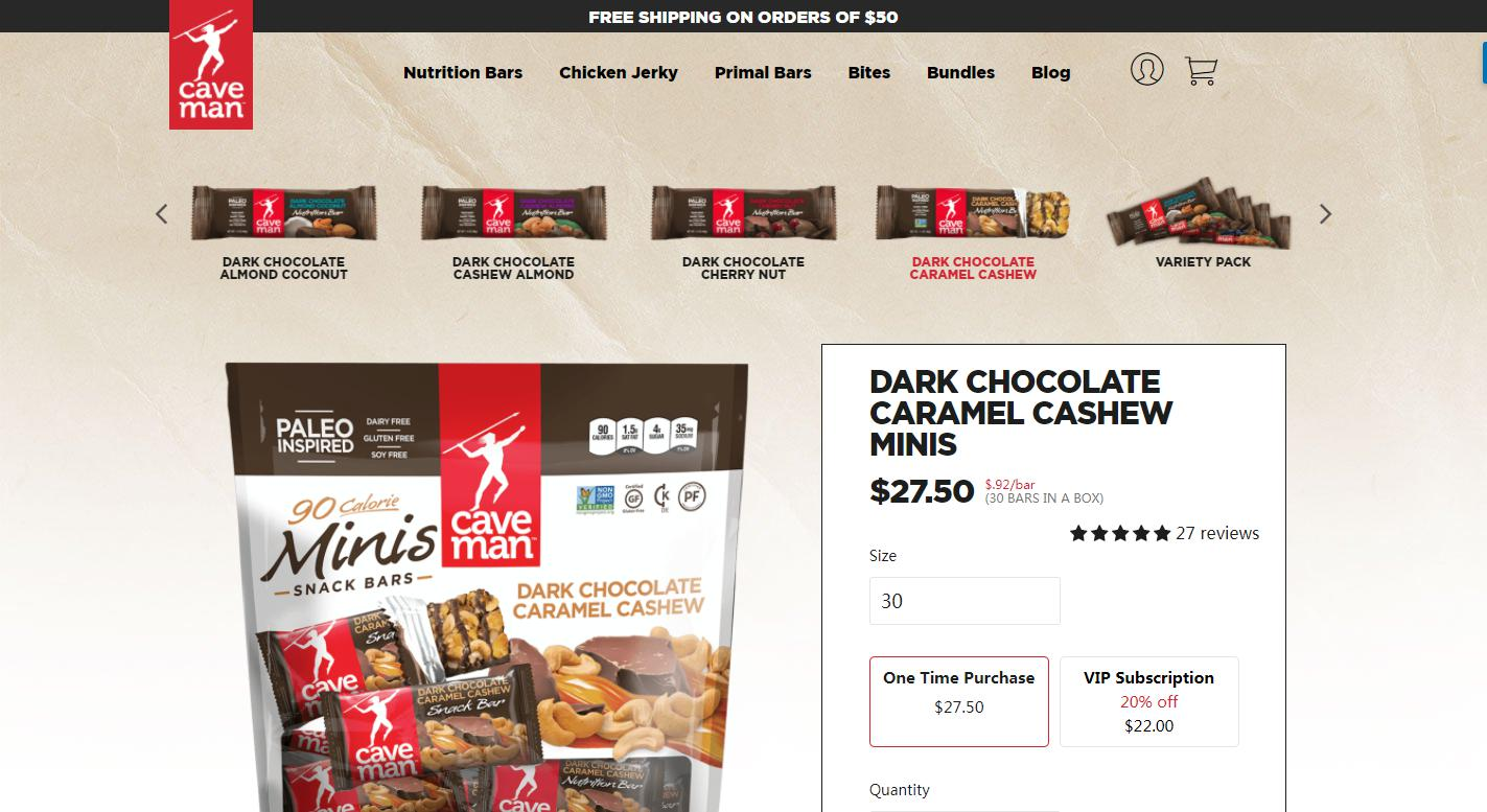 Caveman Foods Reviews 2018 | Services, Plans, Products, Costs & Coupons