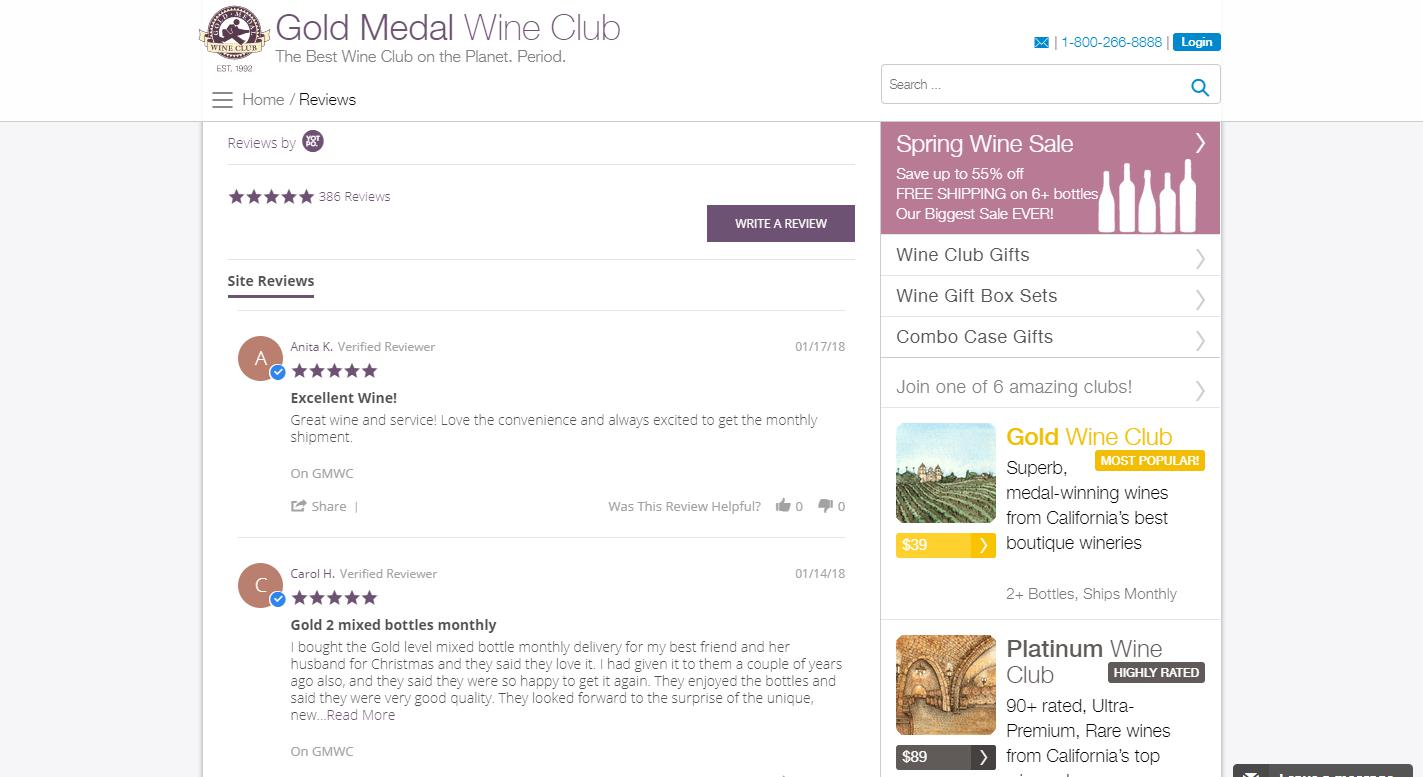 Gold Medal Wine Club Reviews 2020   Services, Plans ...