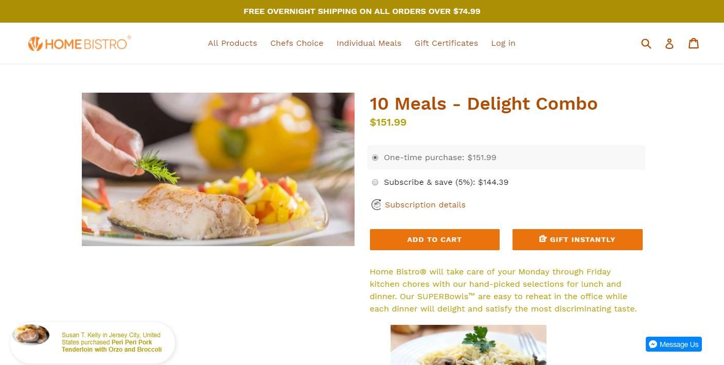 Prepared Meals Home Delivery Reviews