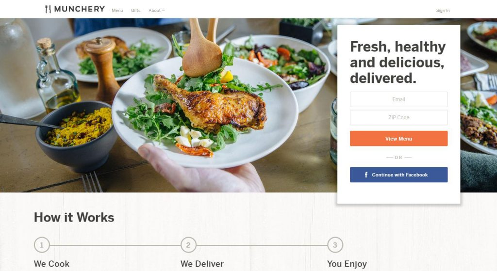 Munchery reviews 2018 services plans products costs coupons the company is built in 2010 and is known as a food delivery service that focuses on fresh food made that is not just premium in quality but cost effective forumfinder Images