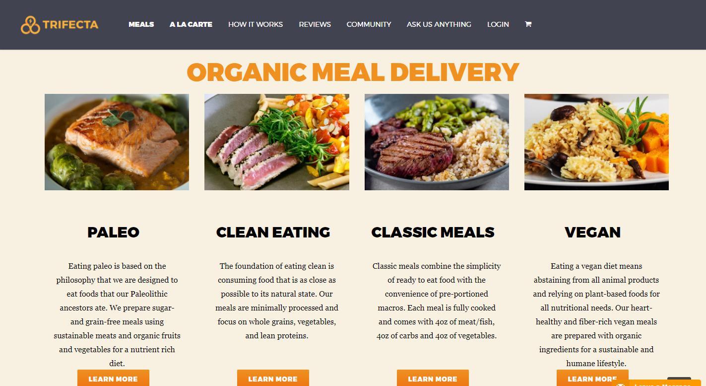 Trifecta Nutrition Reviews 2019 | Services, Plans ...