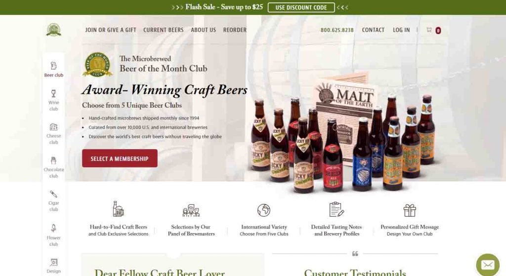 Emeals vs the microbrewed beer of the month club which for Best craft beer of the month club